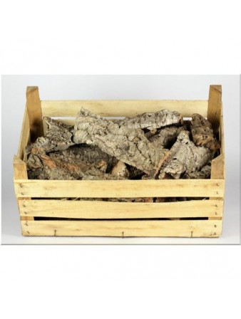BOX 6 CANDELE STELLINE ROSSO