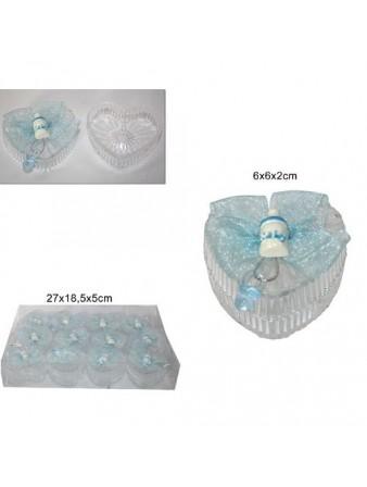 ORSETTO NATALE H16CM C/SCIARPA E CAPP D